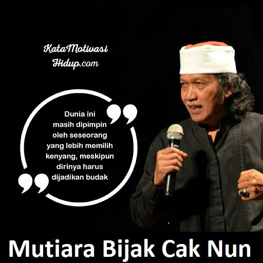Kata Bijak Hidup Cak Nun Offline التطبيقات على Google Play