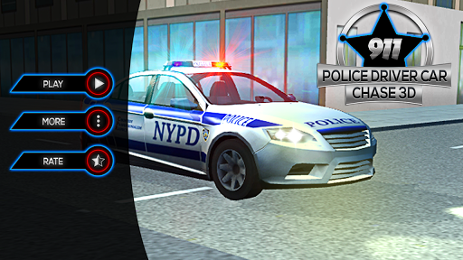 911 Police Driver Car Chase 3D  screenshots 11