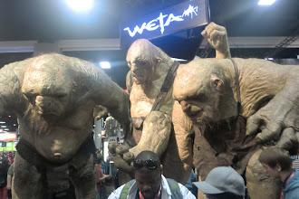 Photo: Floor - Weta's trolls from The Hobbit