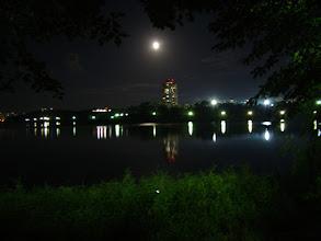 Photo: Nachts am See