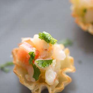 Shrimp Ceviche Bites.