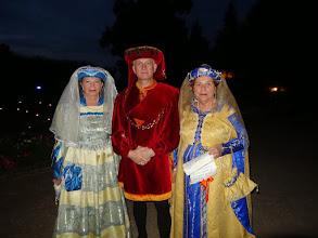 Photo: Mauricette, Lylian et Janine à la fin des 1001 lucioles