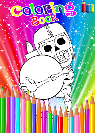 Coloring Book For Clash Of Clans for PC