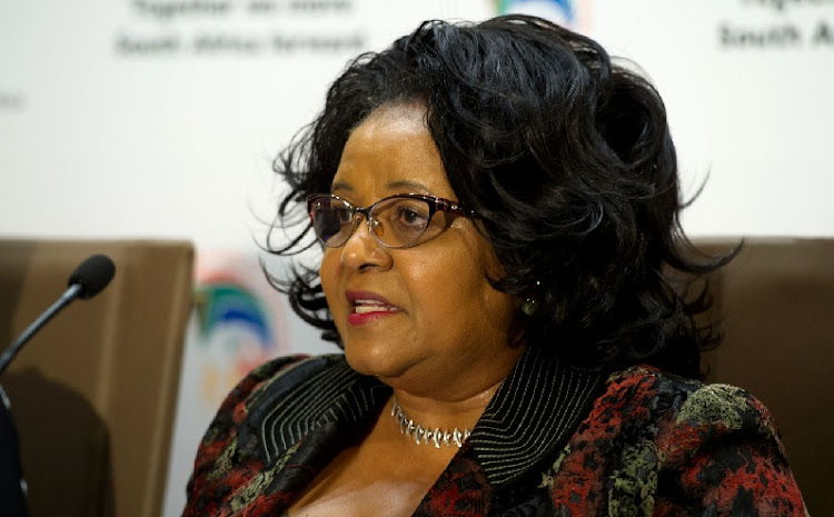 Edna Molewa. File picture: RUSSELL ROBERTS