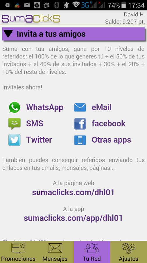 SumaClickS - Make Money- screenshot