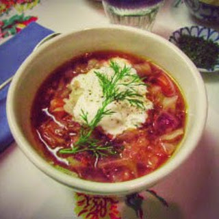 Russian Cabbage Soup.