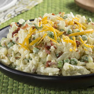 Pea Bacon Cauliflower Salad Recipes