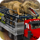 Dinosaur Transportation Truck Driving: City Hunter