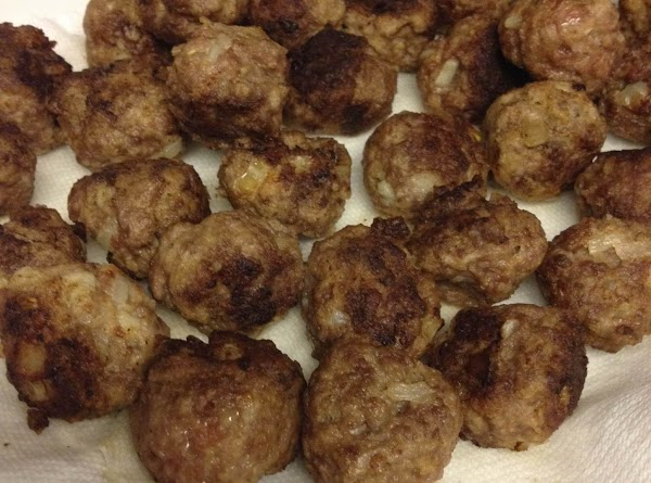 Shape mixture by rounded teaspoon into balls. Melt shortening (or canola oil) in a...