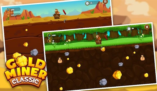 Gold Miner 2018 - Gold Mine Classic Version- screenshot thumbnail