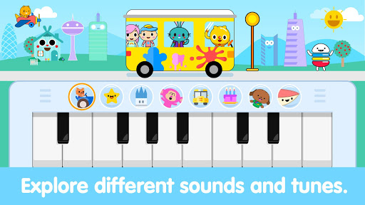 Baby Piano For Toddlers: Kids Music Games Apk 1