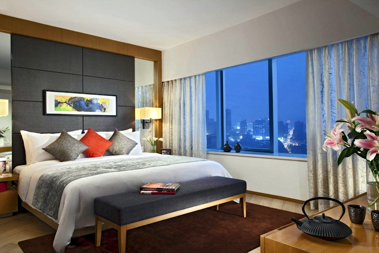 Bedroom at Somerset Riverview Chengdu