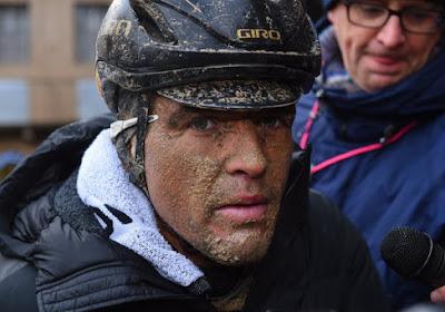 """Greg Van Avermaet komt zelf ook met verklaring voor flauwe prestatie in Strade Bianche: """"Ik denk dat het daaraan lag"""""""