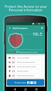 MyPermissions Privacy Cleaner- screenshot thumbnail