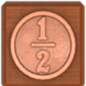 Penny shot icon