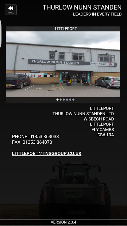 TNS Ltd- screenshot