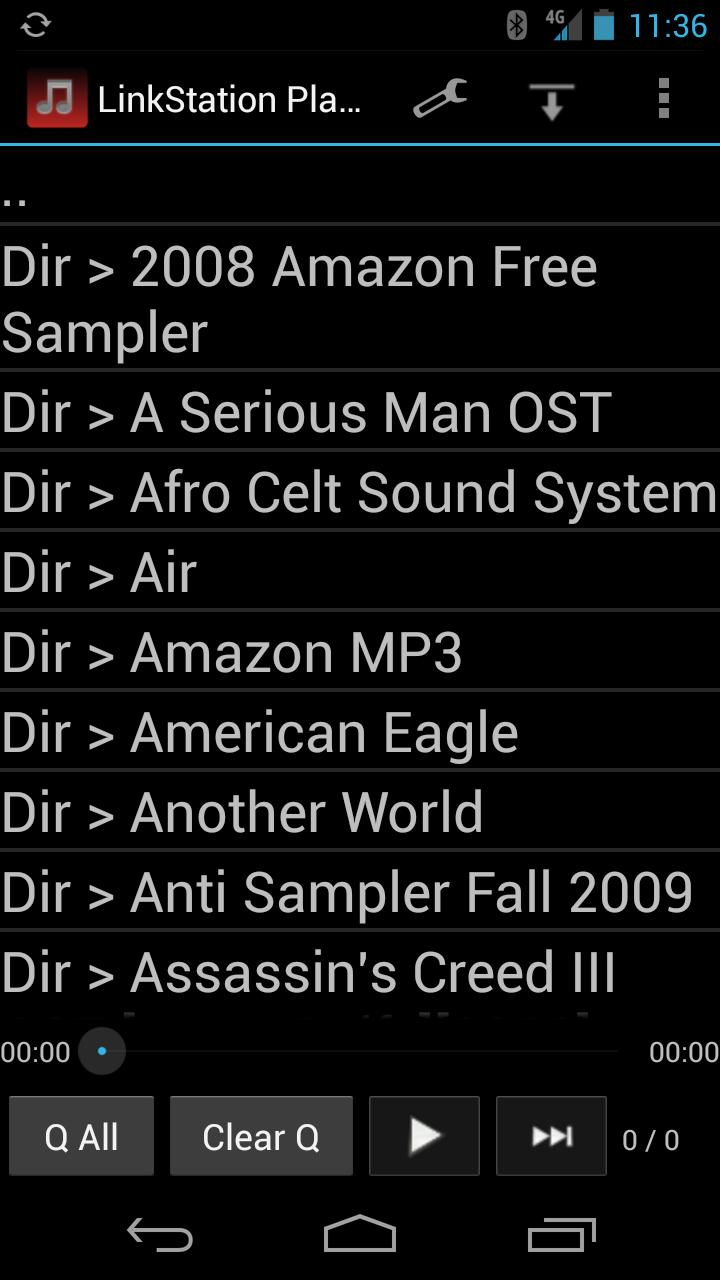Скриншот LinkStation Player LITE