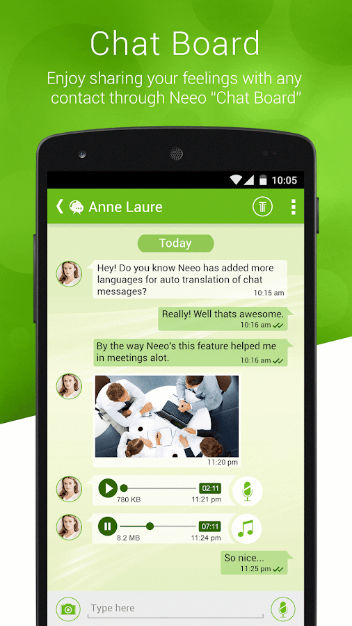 NEEO,Free IM & Chat Translator- screenshot