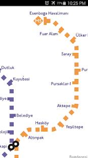 Ankara Metro Map Apps on Google Play