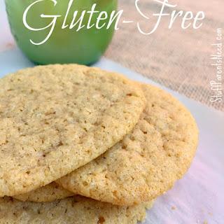 Gluten-Free Cinnamon Tea Cookies
