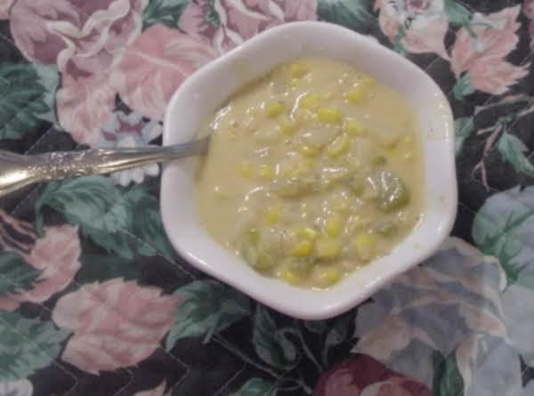 Hearty Corn Chile Potato Soup