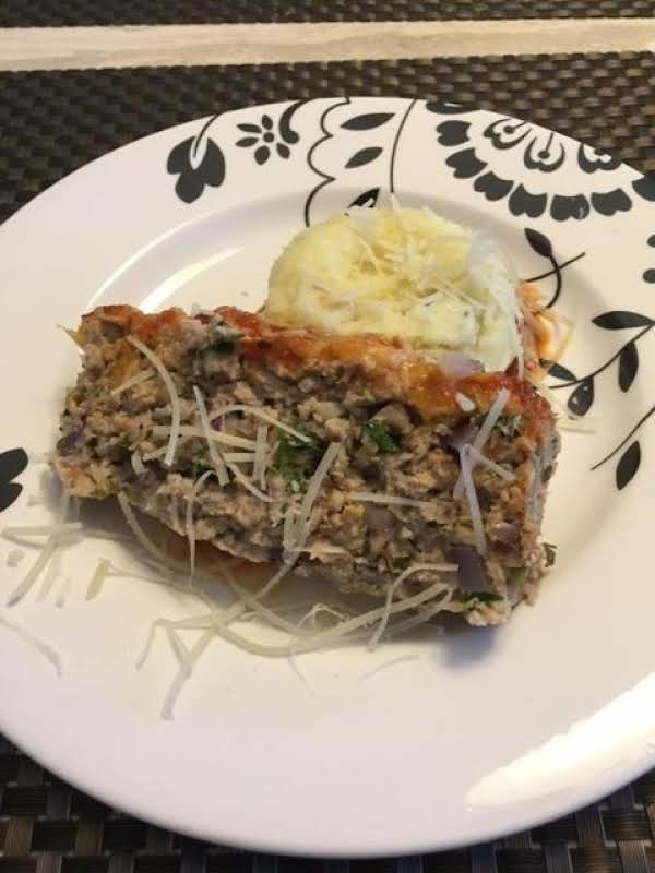 Kitchen Sink Italian Turkey Meatloaf Recipe