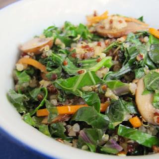 Kale & Quinoa Stir Fry