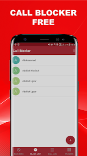 Call blocker and SMS blocker - náhled