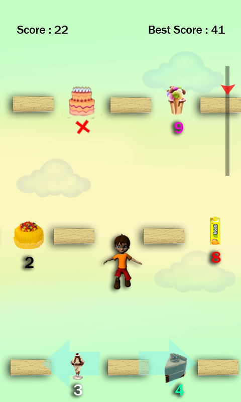 Food Jump - A Hygiene Game- screenshot
