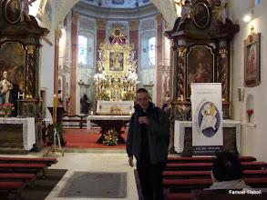 Photo: Jáhen Dominik Ettler v Klokotech, v poutním kostele Nanebevzetí Panny Marie