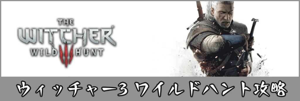 ウィッチャー 3 switch 攻略
