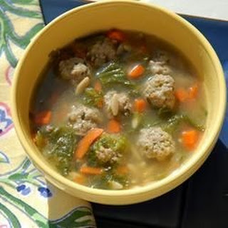 California Italian Wedding Soup.