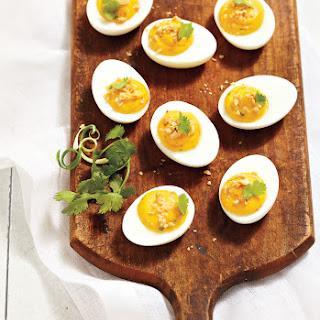 Thai Devilled Eggs.