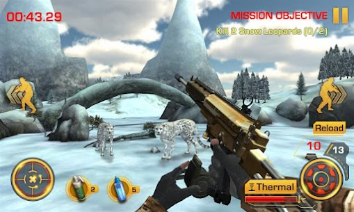 Wild Hunter 3D MOD APK (Unlimited Money) 3