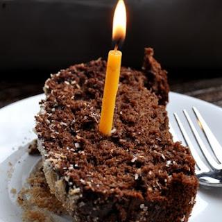 Dark Chocolate Coconut Banana Bread... birthday part 1.