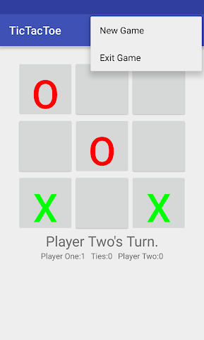 android TicTacToe Screenshot 3
