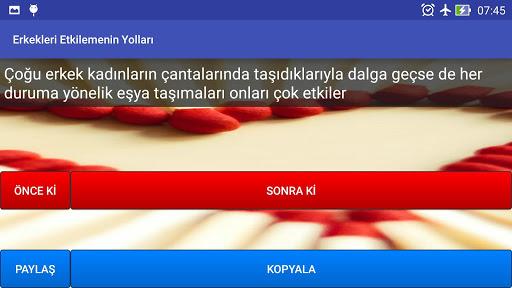 Erkekleri Etkilemenin Yolları app (apk) free download for Android/PC/Windows screenshot