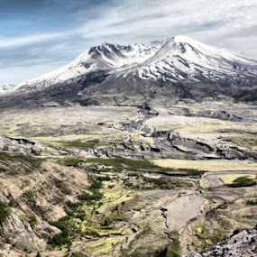 Mt. St. Helens by Stacy Swenson - Landscapes Mountains & Hills