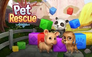 Screenshot of Pet Rescue Saga