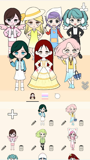 My Webtoon Character Girls - K-pop IDOL Maker ss1