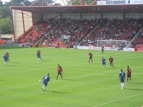 Photo: 09/09/06 v Crewe Alex (FL1) 1-0 - contributed by Leon Gladwell