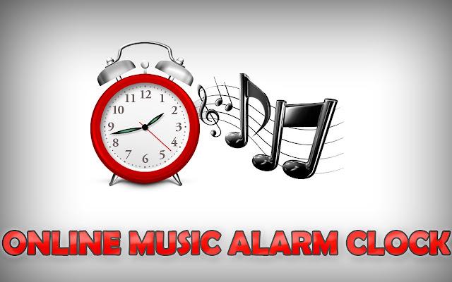 オンライン音楽の目覚まし時計