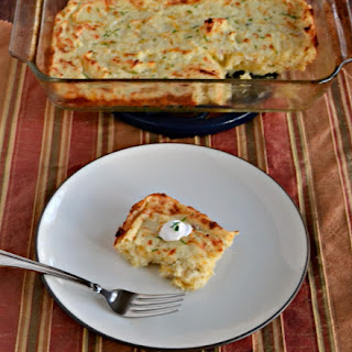Leftover Mashed Potato Puff Casserole