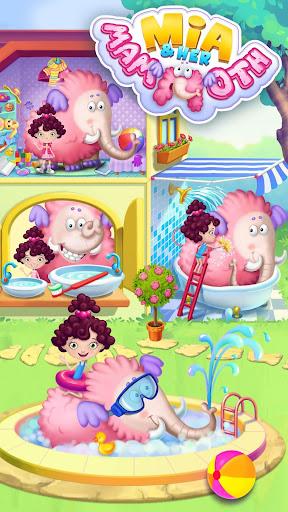 Miau2019s Secret Pet - Fluffy Pink Elephant Care 1.0.109 screenshots 1