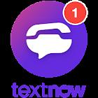 TextNow: Free Texting & Calling App icon