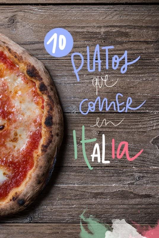 platos tipicos de italia