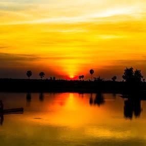 Back Home by Rechard Sniper - Landscapes Sunsets & Sunrises