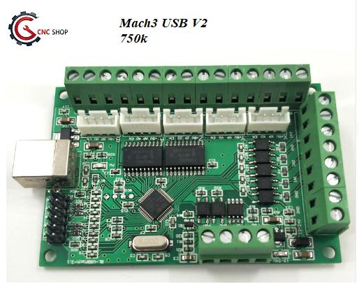 [CNC] Mạch CNC BOB MACH3 USB V2
