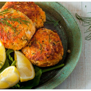 Salmon Fritters.