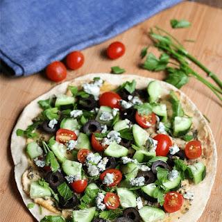Mediterranean Pita Sandwich.